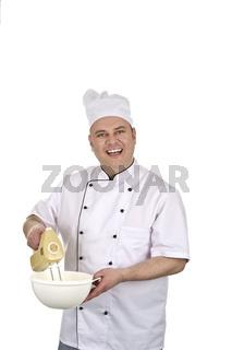 Erfolgreicher Koch