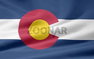 Flagge von Colorado - USA