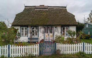 150-jähriges Reetdachhaus in Born