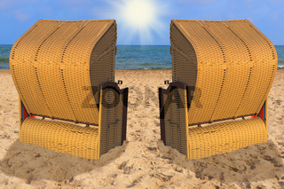 Ostseestrandkoerbe | Baltic Sea beach chairs