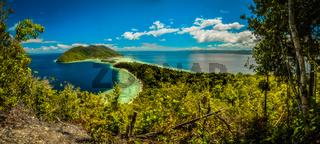 Wilderness of island