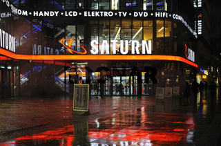 Elektrofachmarkt Saturn, Europa-Center Berlin