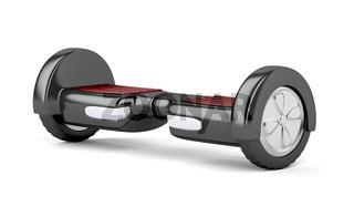 Black self balancing scooter