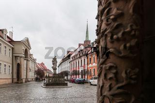 In den Strassen von Breslau