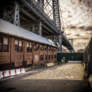Williamsburg Brücke in New York City