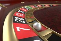 Casino roulette background