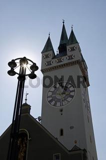 Stadtturm, Straubing, Deutschland