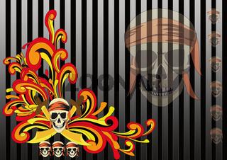 Pirate Retro Style