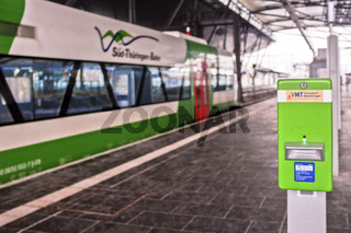 Südthüringenbahn und VMT in Erfurt