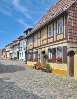auf dem Muenzenberg in Quedlinburg,Harz,Sachsen-Anhalt,Deutschland