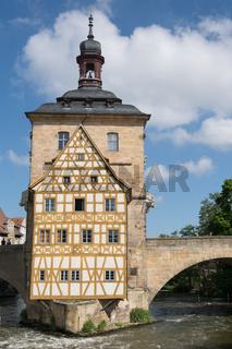 Rathaus von Bamberg, Deutschland