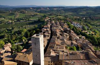 Cityscape of San Gimignano