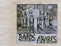 Fliesen vor den arabischen Baedern - Palma de Mallorca