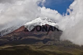 Blick auf den Cotopaxi, Ecuador