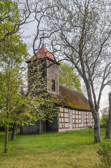 Die Dorfkirche von Seehausen in der Uckermark