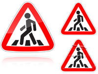 Approaching unregulated pedestrian crossing