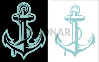 Vector Nautical Anchor