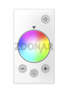 Remote control for LED light bulb