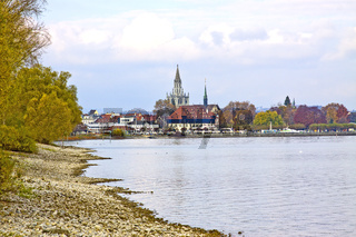 Blick von Kreuzlingen nach Konstanz