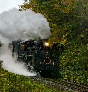 steam locomotive Fukushima Japan