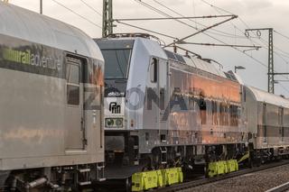 Fahrzeugauslieferung für den polnischen Zugbetreieber AKIEM