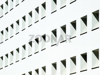 Weiße Hausfassade