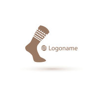 Socks vector logo