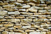 Perfekt gemauerte Wand