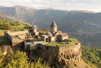 Ancient christian Tatev monastery in Armenia