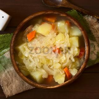 Sauerkraut Soup or Stew