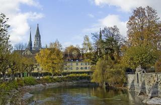 Dominikanerinsel und Münster in Konstanz