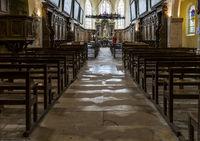 Hautvillers Church Interior