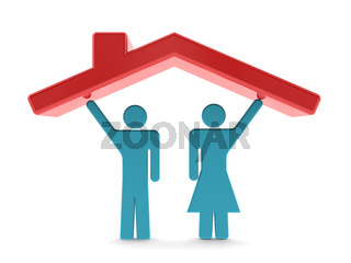 Home idea with a pair of couple