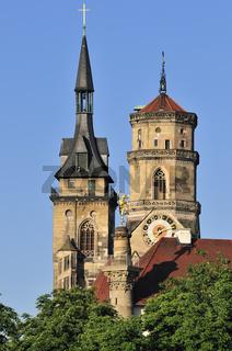 Stiftskirche collegiate church Stuttgart