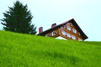 Alm Hütte, House on Alm