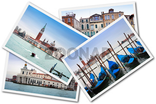 Collage of Venice, Italy
