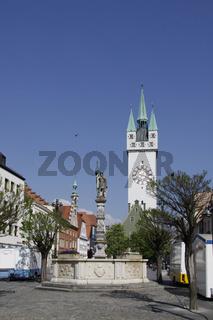 Straubing, Bayern, Deutschland