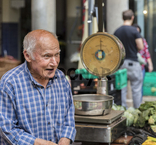 auf dem Markt in Funchal
