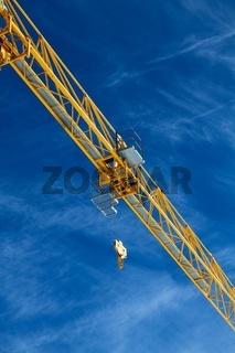 crane in the air