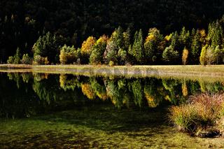 Schwansee bei Schwangau, Bayern, Deutschland