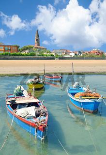Urlaubsort Caorle an der italienischen Adria,Venetien,Italien