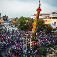 Rato Machindranath festival in Patan, Nepal