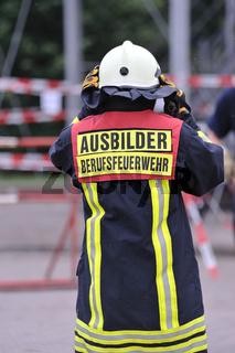 Feuerwehr-Ausbilder