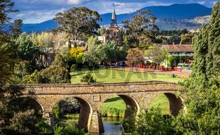 Historische Brücke von Richmond, Tasmanien