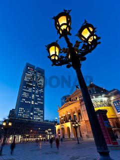 Blick auf die Alte Oper Frankfurt