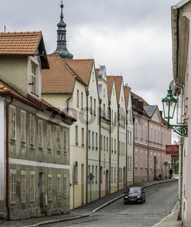 Horšovský Týn (deutsch Bischofteinitz) Pilsener Straße,( Plzeňská), Tschechien