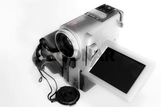 Digitale Videokamera mit Monitor