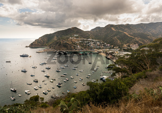 Port of Avalon on Catalina Island