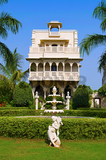 Inner view of Champaner heritage resort, Halol, Gujarat