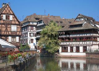 im Gerberviertel von Strassburg